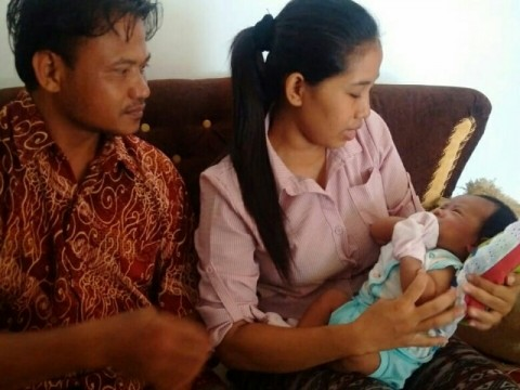 Warga Sragen Memberi Nama Bayinya Joko Widodo Ma'ruf