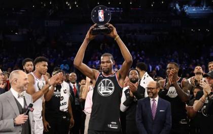Durant kembali Menjadi Bintang NBA