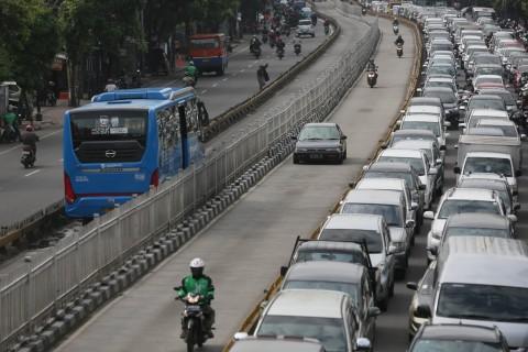 Tilang Elektronik di Jalur Transjakarta Dinilai Efektif