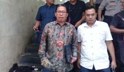 PSSI Leader Leaves Jakarta Metro Police Building