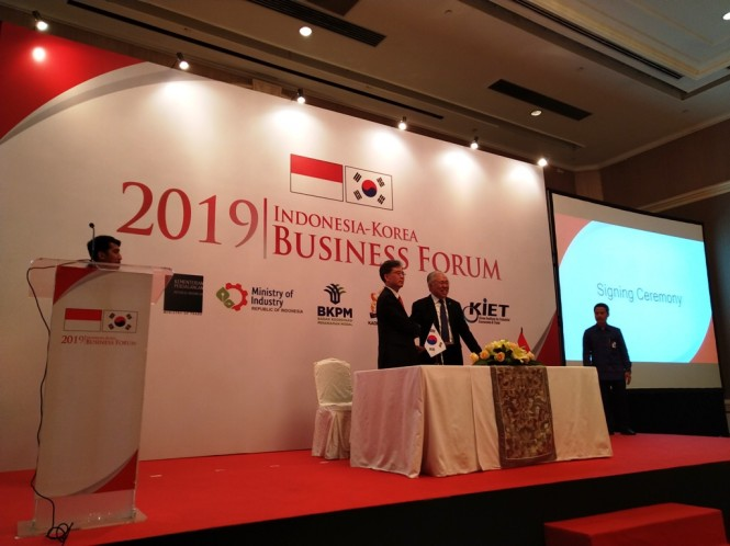 Trade between Indonesia and South Korea is expected to reach US$30 billion by 2020. (Photo:Medcom.id/Ilham Wibowo)