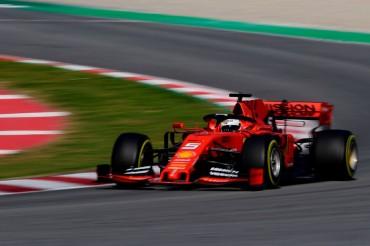 Jadi yang Tercepat di Hari Pertama, Vettel: Ferrari Sudah Mendekati Sempurna
