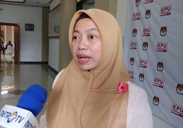 Direktur Eksekutif Perkumpulan untuk Pemilu dan Demokrasi (Perludem) Titi Anggraini. Foto: Medcom.id/Fachri Audhia Hafiez