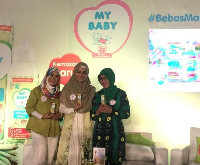 Suasana Konferensi Pers My Baby Minyak Telon Plus di Jakarta (Foto: Kumara/Medcom.id)