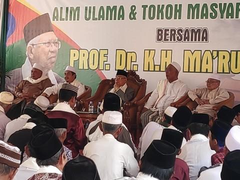 Ma'ruf: Ulama Banten Pindah Dukungan