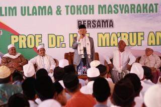 Ma'ruf Netralkan Hoaks di Banten