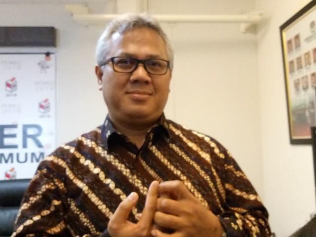 Ketua KPU Arief Budiman. Medcom.id/Siti Yona Hukmana