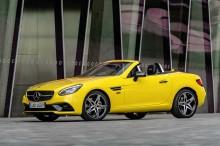 Sebelum 'Disuntik Mati', Mercedes-Benz Kenalkan SLC Final Edition