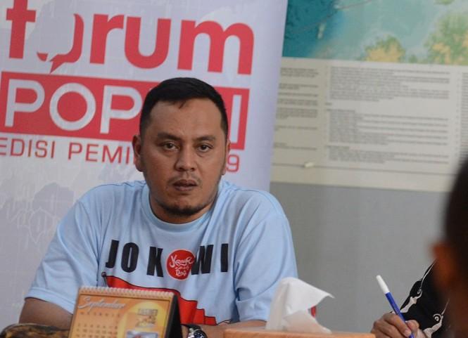 Ketua Bidang Media dan Komunikasi Publik DPP Partai NasDem Willy Aditya. (Foto: MI/Susanto)