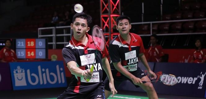 Angga Pratama/Muhammad Rian Ardianto. (Foto: Badmintonindonesia.org)