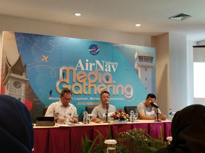 Diskusi bertajuk 'Meningkatkan Layanan, Merangkai Konektivitas' - Medcom.id/Nur Azizah.
