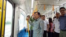 Kalla Inspects Jakarta MRT Project