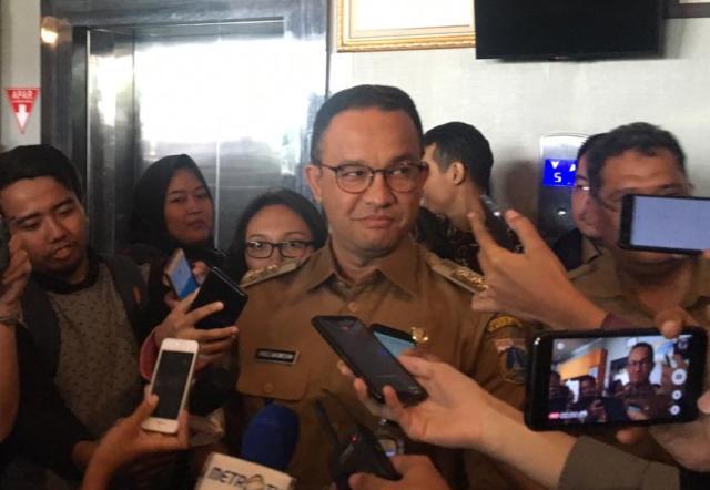 Gubernur DKI Jakarta Anies Baswedan. Foto: Medcom.id/Nur Azizah.