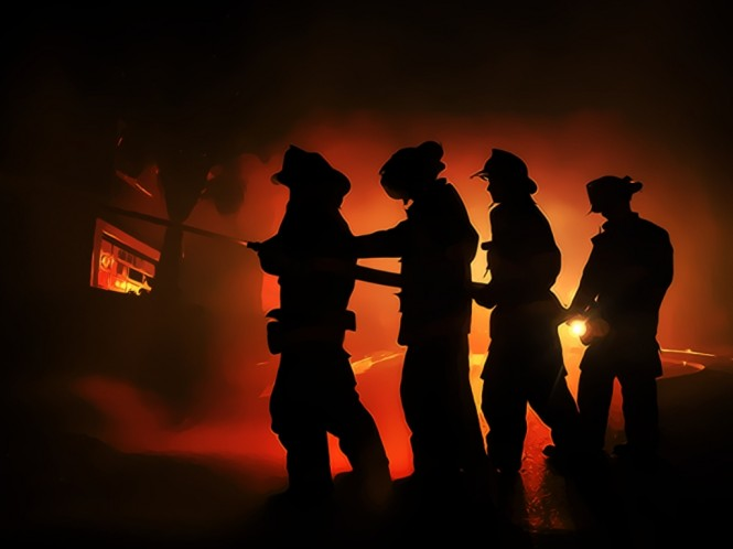 Ilustrasi kebakaran. (Foto: Medcom.id).