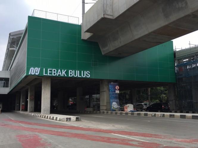 A Jakarta MRT station in Lebak Bulus (Photo:Medcom.id/Dian)