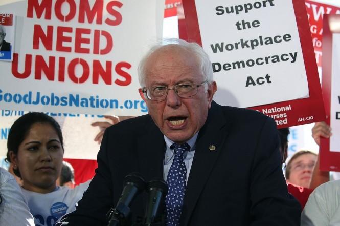 Senator Bernie Sanders. (Foto: AFP)