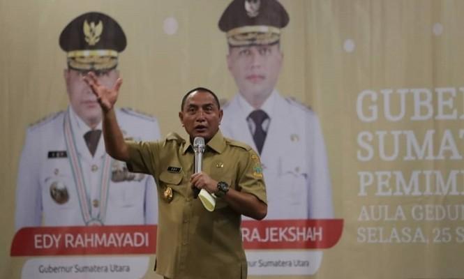 Gubernur Sumatera Utara Edy Rahmayadi. Dok;Twitter.