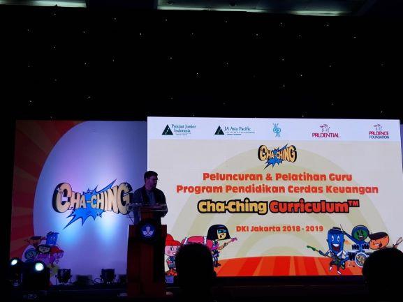 Peluncuran dan pelatihan guru Program Cha-ching Kurikulum, Medcom.id/Intan Yunelia.