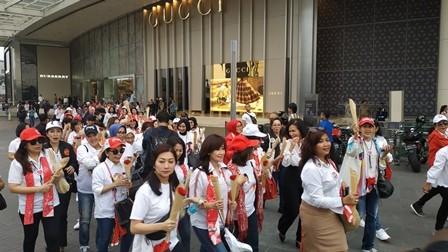 Relawan Perempuan Jokowi-Ma'ruf Gelar Aksi Simpatik