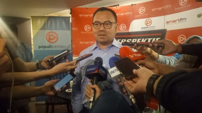 Anggota BPN Prabowo-Sandi, Sudirman Said. Medcom.id/Faisal Abdalla.