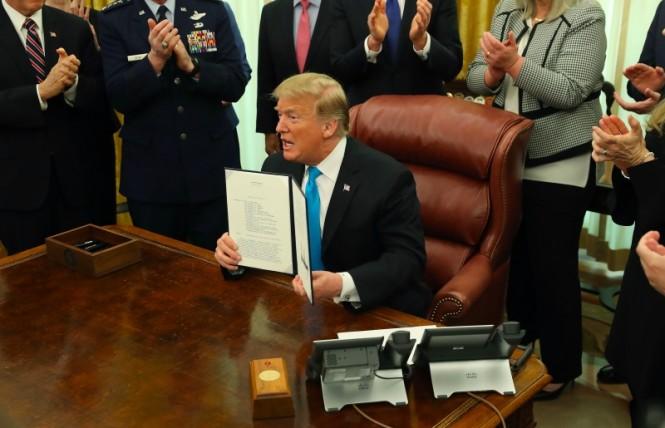 Presiden AS Donald Trump tolak menerima warga yang pernah bergabung ISIS untuk kembali ke Amerika. (Foto: AFP).