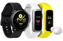 Wearable Anyar Samsung, dari Watch Active Sampai Galaxy Fit