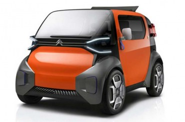 Citroen Ami One Concept, Bakal Pesaing Smart ForTwo