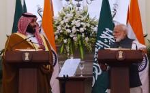 Putra Mahkota Arab Saudi ke India Sepakati Investasi Rp1.405 Triliun