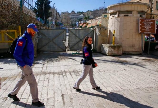 Anggota TIPH yang bertugas di Hebron, Tepi Barat akan mengakhiri masa tugasnya setelah PM Israel Benjamin Netanyahu secara sepihak mencabut mandatnya. (Foto: AFP).
