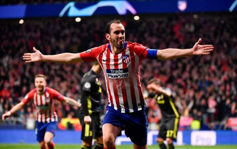 Godin Beberkan Kunci Kemenangan Atletico