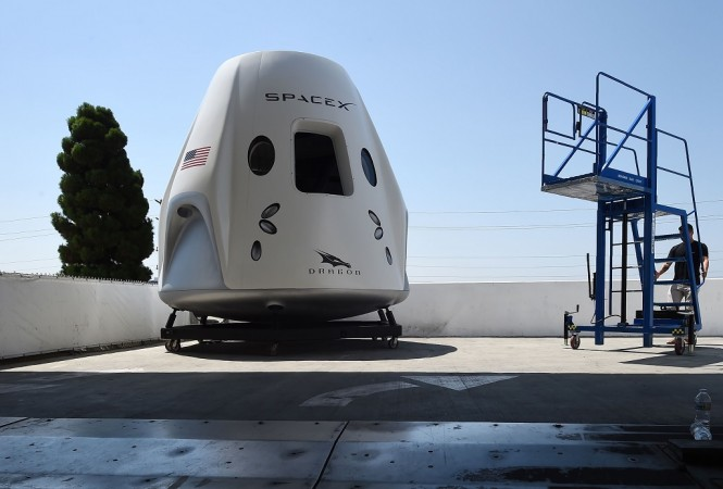 Crew Dragon milik SpaceX. (Photo by Robyn Beck / AFP)