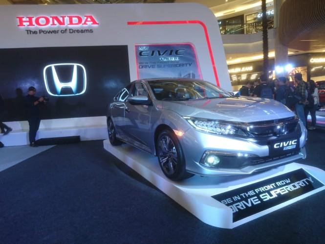 Konsumen bisa memiliki New Civic dengan banderol Rp 507 juta (on the road Jabodetabek). Medcom.id/Ekawan Raharja