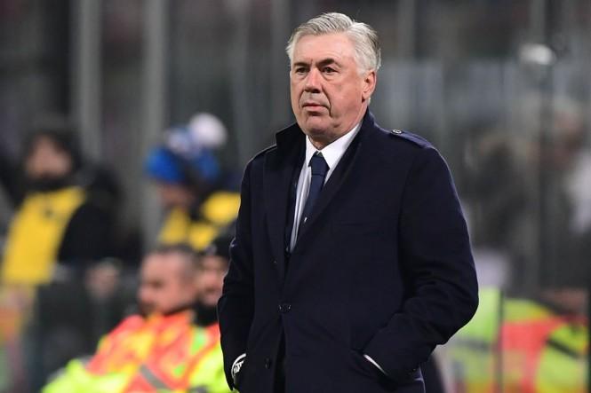 Pelatih Napoli, Carlo Ancelotti (AFP/Miguel Medina)