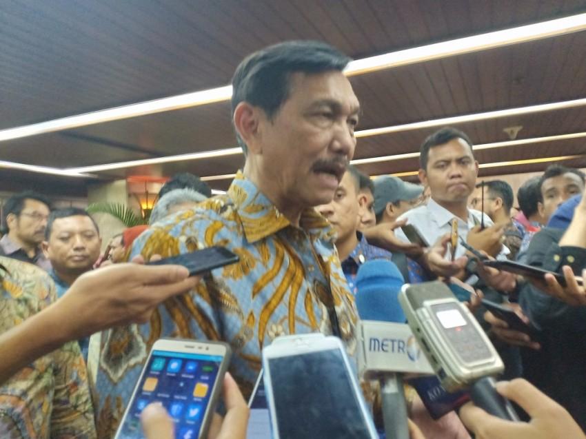 Luhut Bantah Ada Pertemuan Rahasia Jokowi dengan Freeport