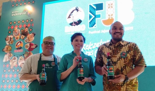 Festival Jajanan Bango (FJB) 2019 kembali hadir untuk melestarikan kuliner Nusantara lintas generasi. (Foto: Dok. Medcom.id/Sunnaholomi Halakrispen)