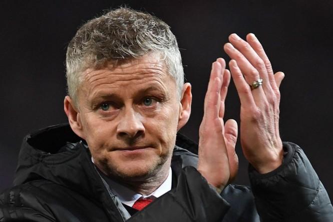 Pelatih interim Manchester United, Ole Gunnar Solskjaer (AFP/Paul Ellis)
