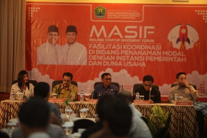 Kegiatan MASIF (Malang Start Up Investment Forum) di Hotel Sahid Montana, Malang, Kamis 21 Februari 2019. Foto: Humas Pemkot Malang