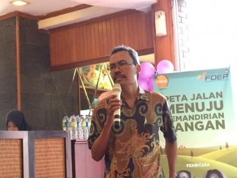 Pengamat Pertanian dari Asosiasi Ekonomi Politik Indonesia Khudori --Medcom.id/Husen Miftahudin