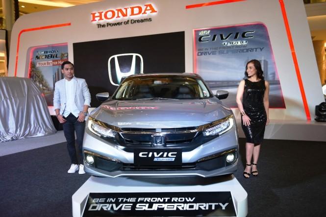 New Honda Civic Turbo hanya ditawarkan satu varian. Honda