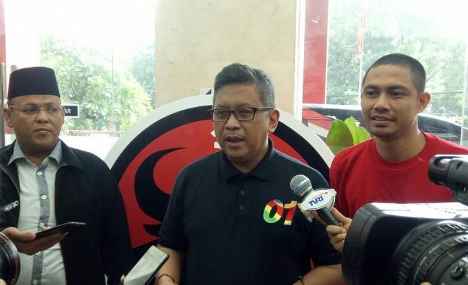 Sekjen PDIP Hasto Kristiyanto - Medcom.id/Arga Sumantri