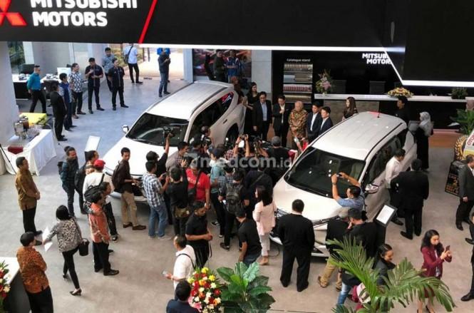 Kerjasama antara Sun Motor Group dengan KB Capital untuk urusan pembiayaan kredit mobil. Medcom.id/Ahmad Garuda