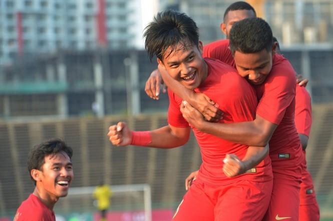 Timnas Indonesia U-22. (Foto: Antara/Nyoman Budhiana)
