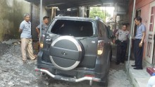 Mobil Caleg PDI Perjuangan di Sleman Dibakar OTK
