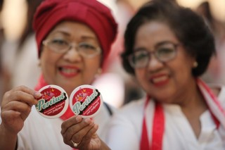 Pertiwi Siap Bertempur Menangkan Jokowi-Ma'ruf