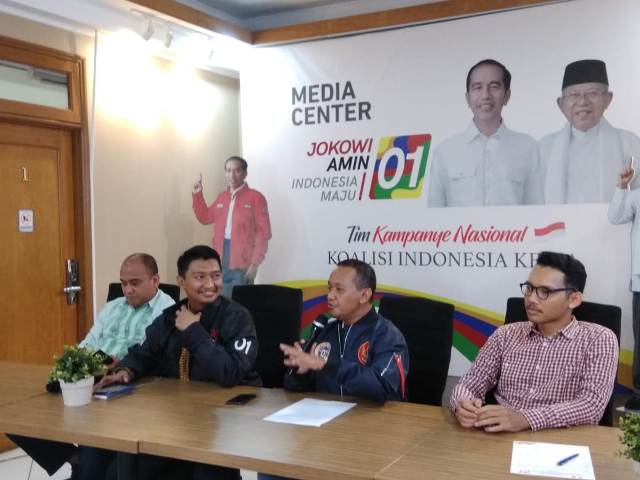 Wakil Ketua Panitia Konvensi Rakyat Bahlil Lahadalia--Medcom.id/Whisnu Mardiansyah.