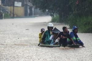 Banjir Landa 3 Kecamatan di Kabupaten Bandung