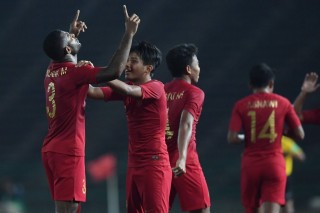 Cukur Kamboja, Timnas U-22 Tantang Vietnam di Semifinal Piala AFF