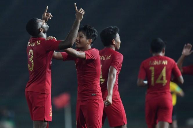 Timnas U -22 Indonesia (Foto Antara/Nyoman Budhiana)