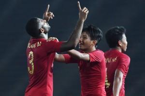 Kalahkan Kamboja 2-0, Garuda Muda Lolos ke Semifinal