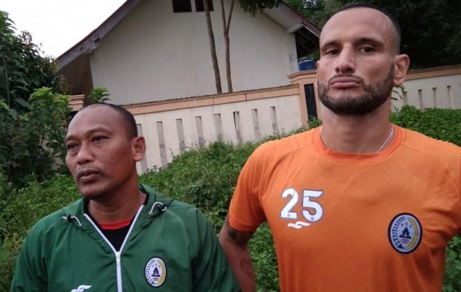 Alfonso de la Cruz (kanan). (Foto: medcom.id-Ahmad Mustaqim)